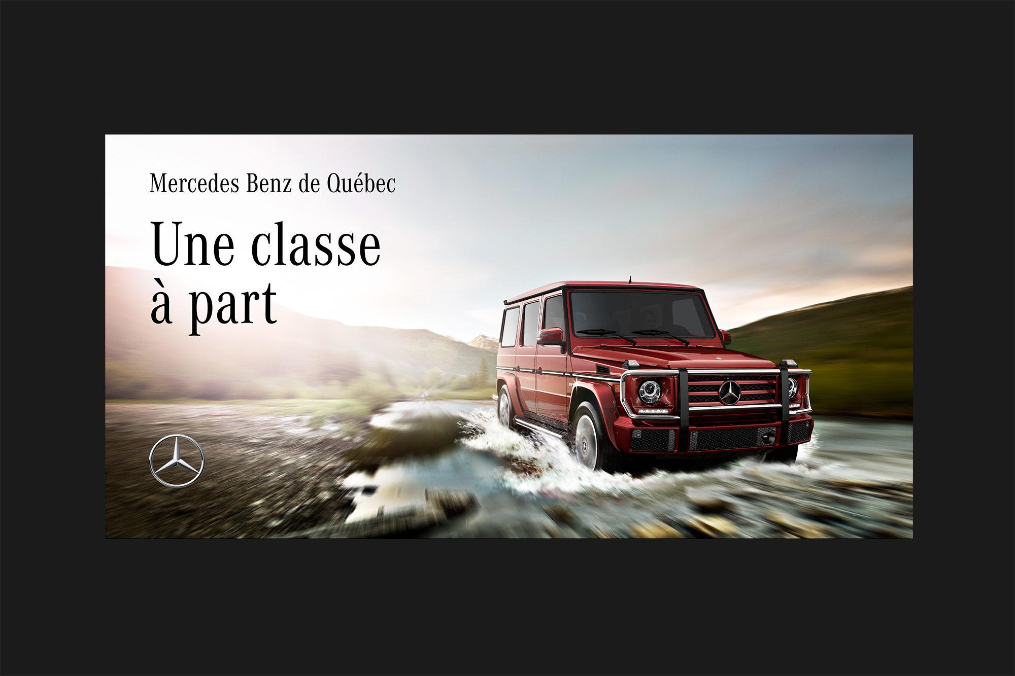 Mercedes Benz Quebec >> Imedia Firme Creative Mercedes Benz De Quebec
